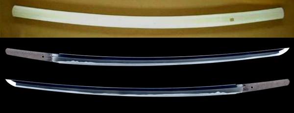 茎9�biˮx��_47cm  茎:生ぶ,鑢目胜手下,目钉孔一 鉴定书:  财団法人 日本美术刀剣